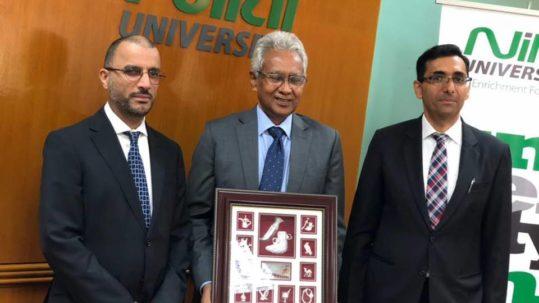 سفير السلطنة والملحق الثقافي في زيارة لجامعة نيلاي الماليزية