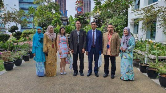 إجتماع مع هيئة الإعتماد الوطني الماليزي (MQA)